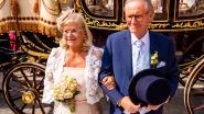 Hele dorp geniet mee van trouw Willy & Marie-Jeanne