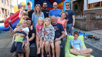 Vijf gezinnen organiseren speelstraat en buurtfeest