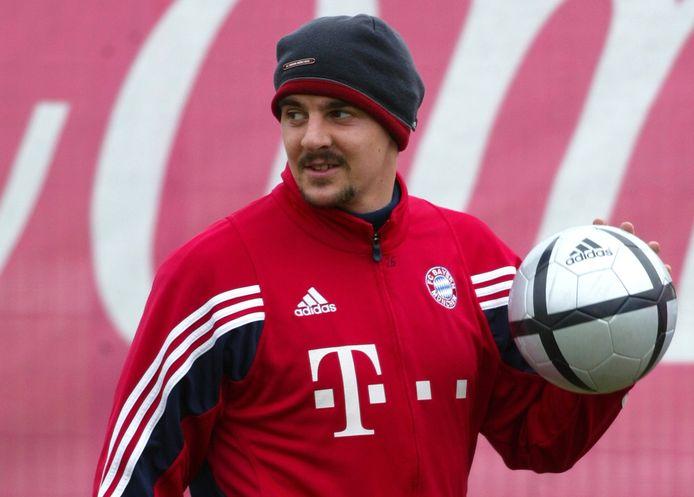 Sebastian Deisler, op training bij Bayern.