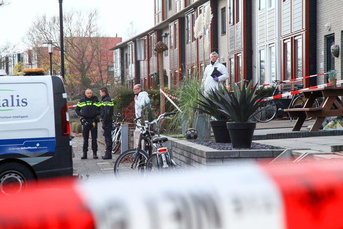 Het in december vorig jaar mis in een woning aan de Hoge Geeren in Hoogland