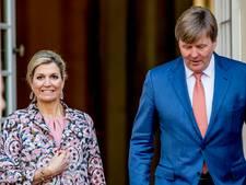 Willem-Alexander ontvangt president Mozambique