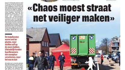 """""""Chaos moest straat net veiliger maken"""""""