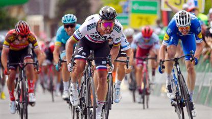 Peter Sagan sprint naar de zege in Ronde van Zwitserland en is de nieuwe leider