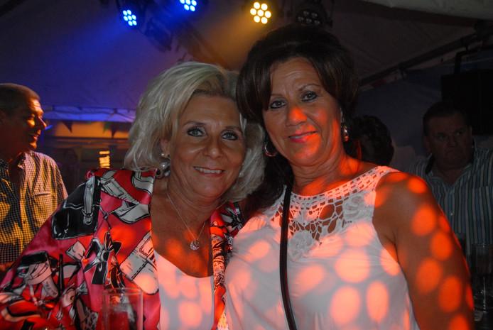 Twee grote fans van Rienie van de Kerkhof.