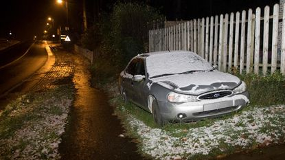 Eerste 'Vlaamse' sneeuw valt in Heuvelland