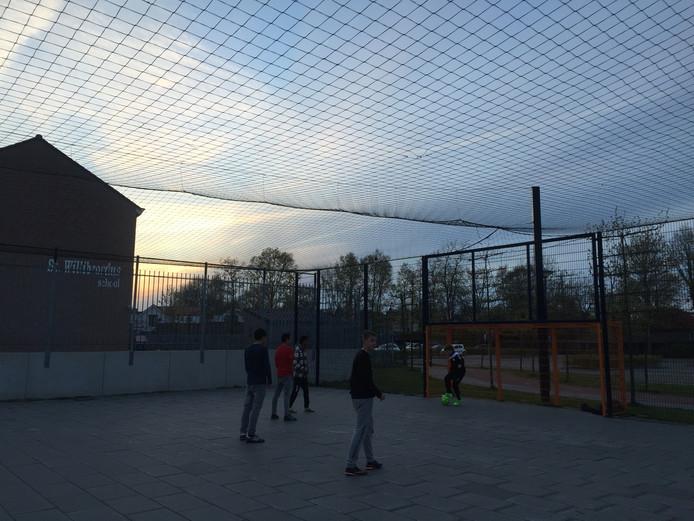 Voetbalkooi in Zierikzee
