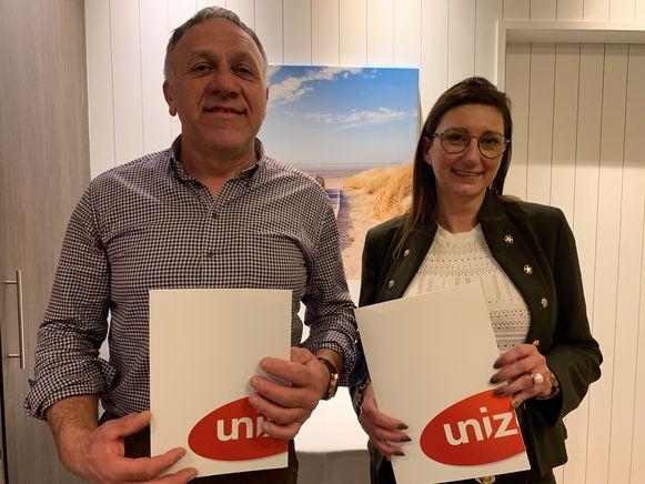 Ivan Kimpe en Heidi Vandenbroecke vormen een tandem aan het hoofd van Unizo