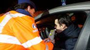 Twintig bestuurders onder invloed uit het verkeer gehaald