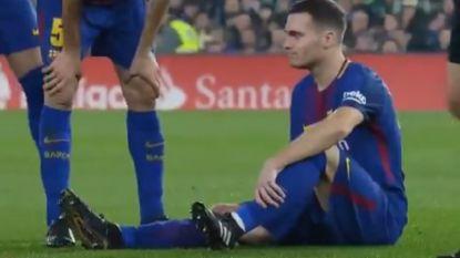 Slecht nieuws: Vermaelen moet geblesseerd naar de kant (maar ook zonder hem haalt Barça zwaar uit)
