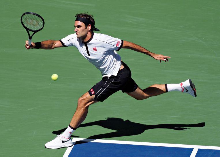 Tennisser Roger Federer. Beeld EPA