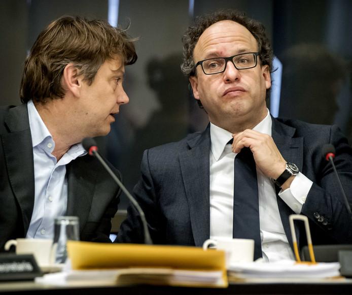 Wouter Koolmees, minister van Sociale Zaken en Werkgelegenheid, tijdens een debat in de Tweede Kamer over de problemen bij het UWV.