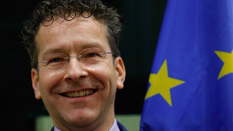 Minister Jeroen Dijsselbloem van Financiën Beeld epa