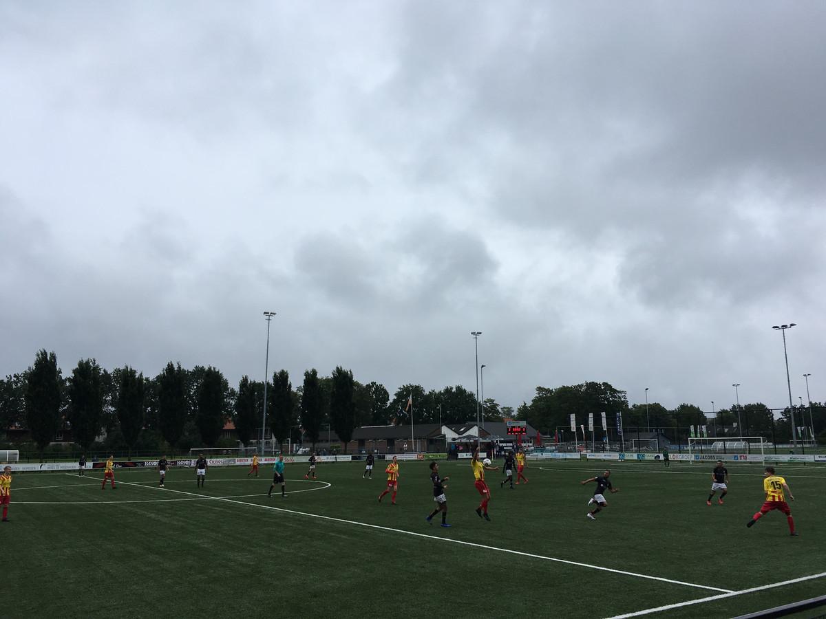 Spelbeeld van de wedstrijd Juliana '31-NEC.