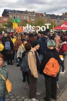 Seules 300 personnes ont marché pour le climat à Liège