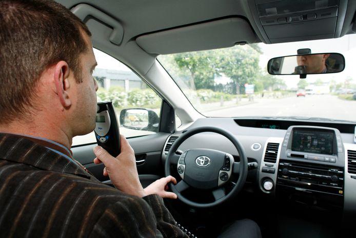 Het alcoholslot is afgeschaft als straf tegen notoir drankgebruik in de auto.