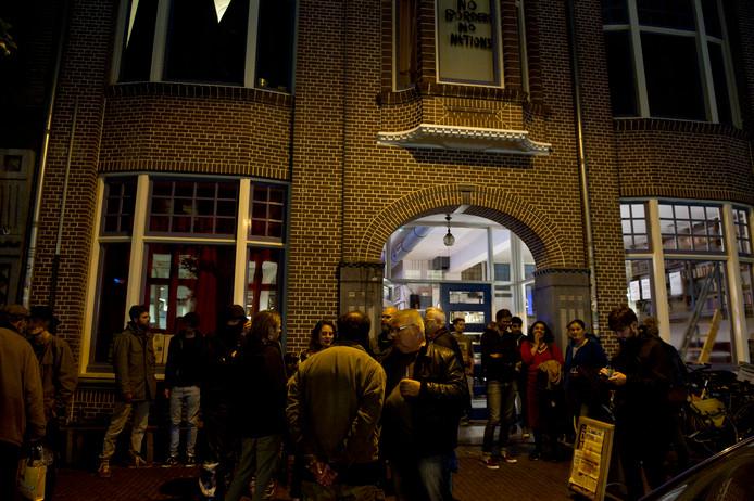 Een eerdere demonstratie voor De Grote Broek in Nijmegen.