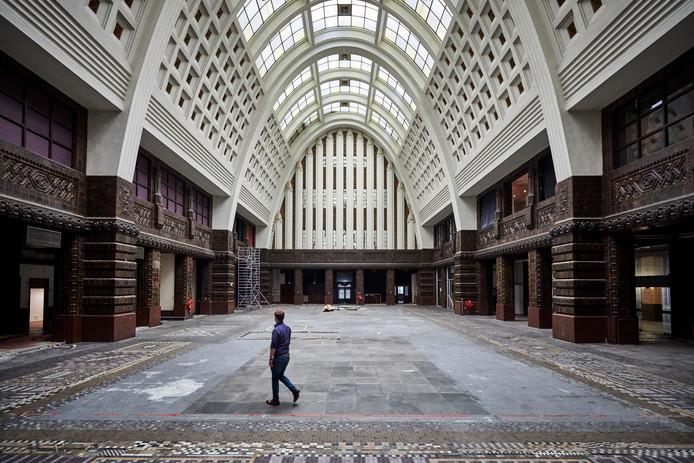 Het monumentale postkantoor.