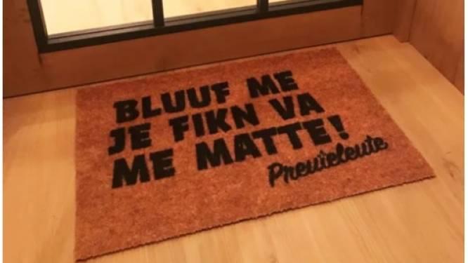 'Bluuf me je fikken van me... deurmatte!': Preuteleute lanceert opvallend gadget na uitstel van enkele shows