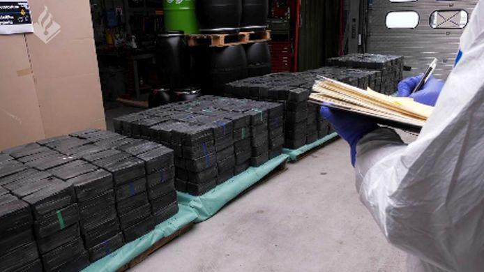 2500 kilo crystal meth, werd er gevonden in Rotterdam.