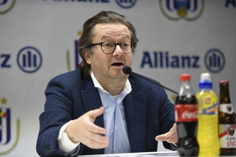 Anderlecht-voorzitter Marc Coucke.