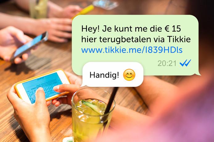 Al bijna 3 miljoen Nederlanders gebruiken Tikkie en wekelijks komen daar tienduizenden mensen bij.