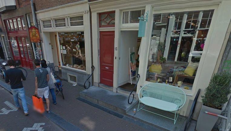 De bakkerij in de Runstraat, links op de foto. Beeld Google Street View