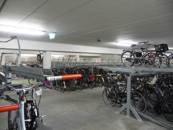 Uitbreiding fietsenstalling