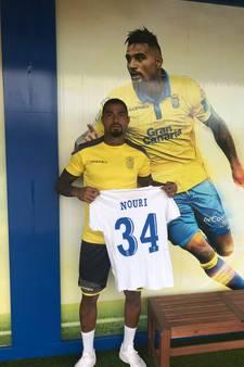 Kevin-Prince Boateng speelt hele seizoen met Nouri op zijn shirt