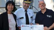 Politie schenkt 3.009 euro aan Villa Samson