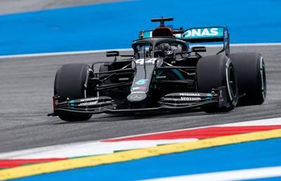 Mercedes déjà devant à l'issue de la première séance d'essais qualificatifs en Autriche
