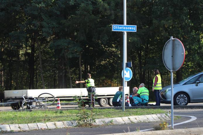 Het ongeval aan de Otterloseweg.