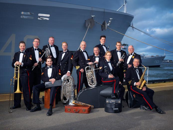 De Marinierskapel der Koninklijke Marine.