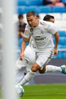 Les premières minutes de jeu d'Eden Hazard au Real