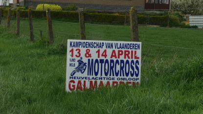Motorcross 'Kampioenschap van Vlaanderen' in de Langestraat