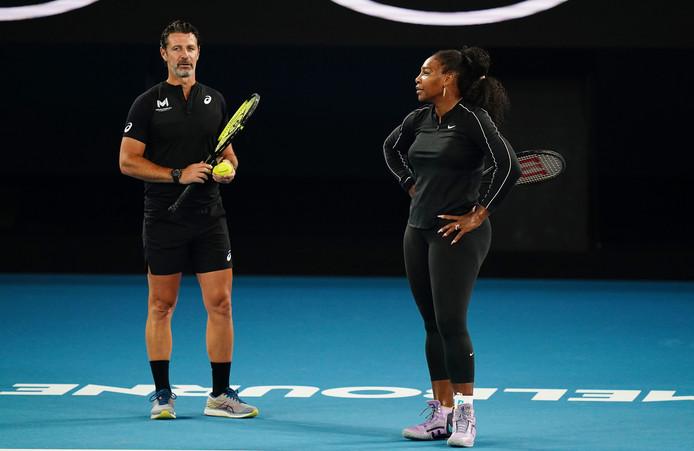 Patrick Mouratoglou et Serena Williams