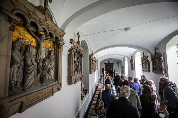 Het Engels Klooster is opnieuw opengesteld voor bezoekers. Hier een foto van voor de coronamaatregelen.