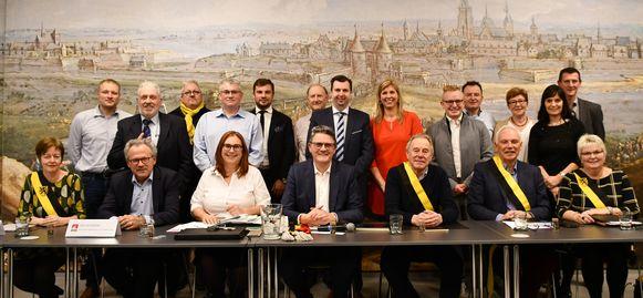 De gemeenteraad van Zoutleeuw.