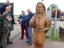 Gestolen Michiel de Ruyter van Bataviawerf boven water