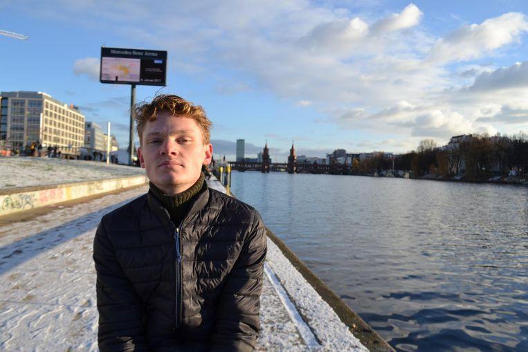 Isa Huipen, vwo-leerling op het Hyperion Lyceum in Noord. Beeld -