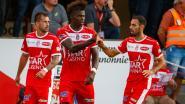 Moeskroen wipt naar gedeelde tweede plaats na driepunter tegen AA Gent