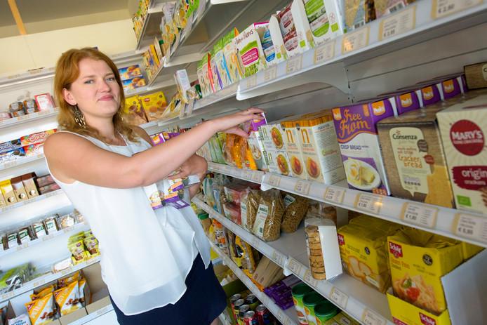 Elze Bijl in haar Glutenvrije Super