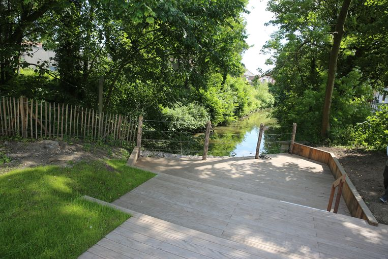 De voorbije jaren werden heel wat nieuwe groene plekjes ingericht in Halle, zoals het Elisabethpark.