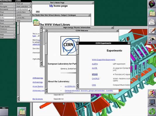 Een van de eerste webbrowsers ooit!