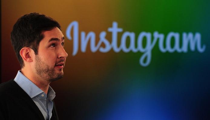 Grote baas en medeoprichter van Instagram Kevin Systrom.
