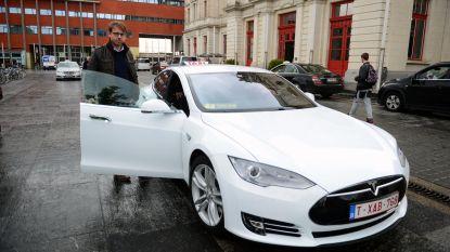 Leuven is koploper met e-taxi's