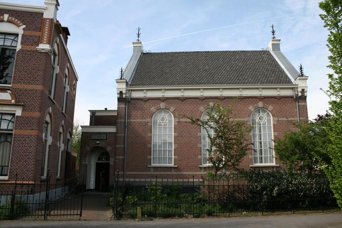 De synagoge aan de Spoorstraat in Winterswijk.