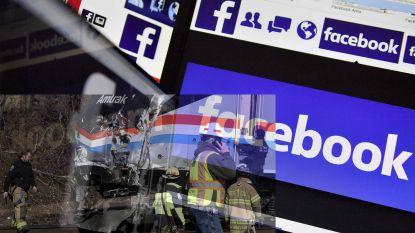 Facebook promoot complottheorieën die zeggen dat Hillary Clinton achter Amtrak-crash met Republikeinen zit