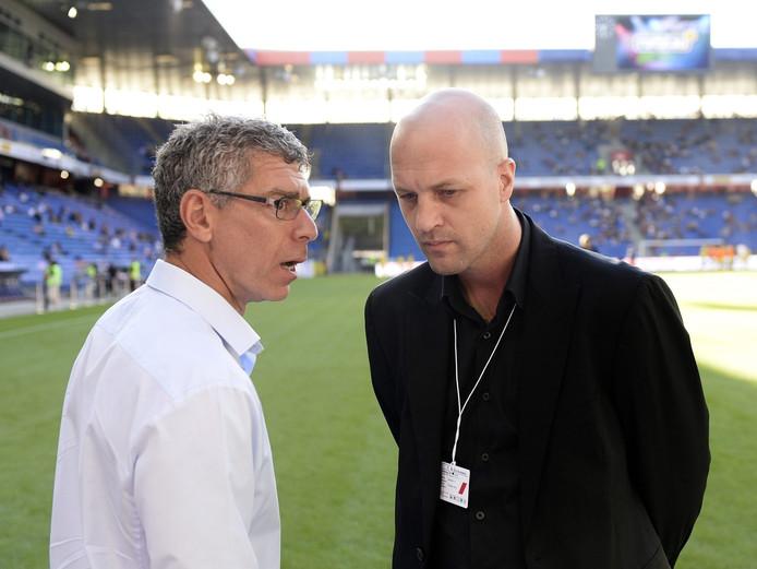 Jordi Cruijff (rechts).