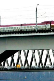Treinverkeer hsl over Hollands Diep hervat