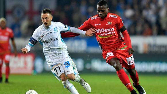 In de reguliere competitie kon AA Gent geen enkele keer winnen van KV Oostende. De kustploeg pakte 4 op 6.